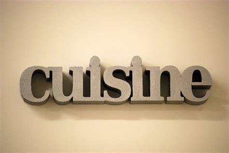 mot de cuisine déco cuisine lettre exemples d 39 aménagements