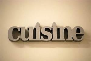 Lettre Decorative Cuisine : cuisine longueur ~ Teatrodelosmanantiales.com Idées de Décoration