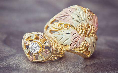 Black Hills Gold Diamond Rings  Shop Black Hills Gold