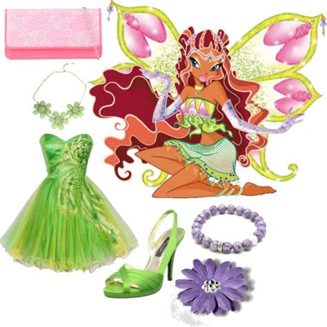 images  winx club outfits  pinterest