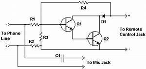 Telephone line monitor circuit diagrams schematics for How to wire a 2 line phone jack diagram likewise telephone phone line