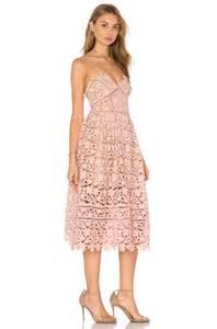 midi dresses for weddings azaelea blush pink lace dress
