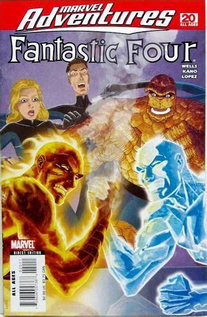 Marvel Adventures: Fantastic Four No. 20   Marvel Comics ...