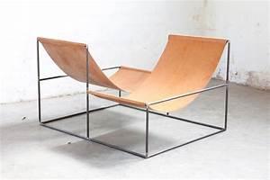 Furniture muller van severen for Fauteuil rocking chair design