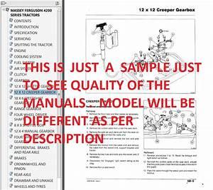 Massey Ferguson 1529 Workshop Service Manual
