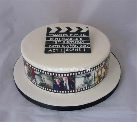 film reel  clapperboard cake bedford uk piotr cake