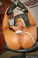 Big tits boss breast support