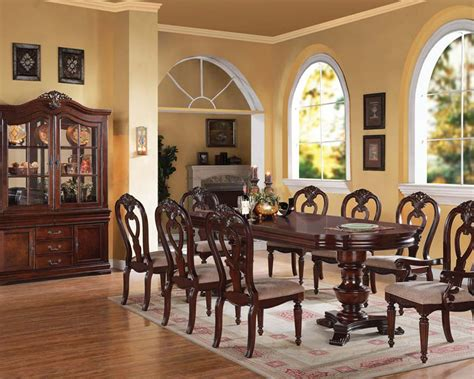traditional dining room sets cherry wood dining room chairs traditional style dining