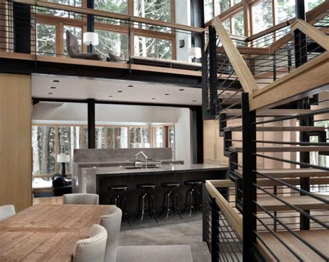 Log Cabin Style Meets Ethnic Modern Interior Design by Modern Meets Rustic Lodge 2014 Hgtv