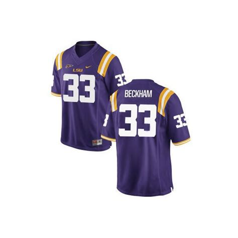 womens nike lsu tigers  game purple jersey odell