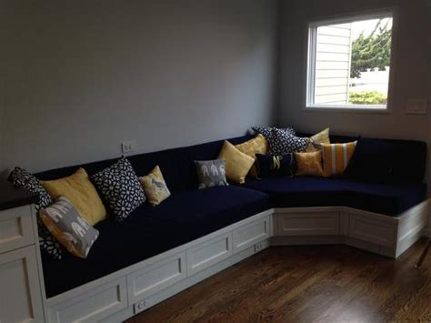 buy banquette bench custom cushion sewn banquette seat bench cushion with etsy