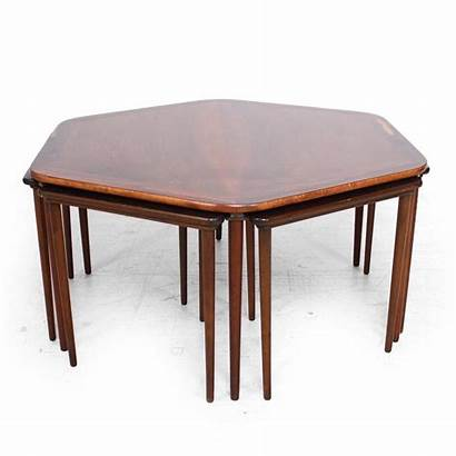 Table Coffee Modern Nesting Mid Century Tables