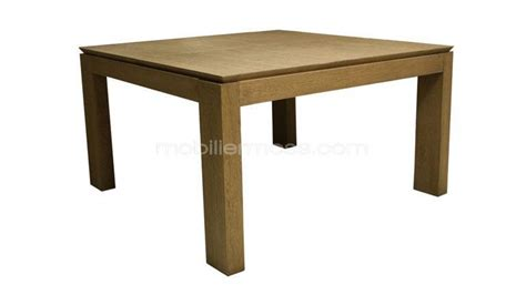 table carree en bois table carr 233 e extensible en bois cleveland mobilier moss