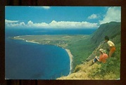 Aerial View of Leper Colony Hawaii MOLOKAI Vintage Chrome 1966 Postcard | eBay