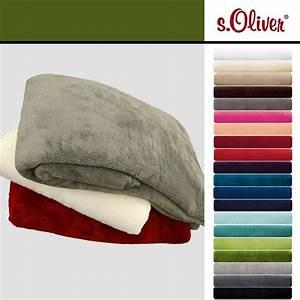 S Oliver Decke : s oliver wellsoft decke wohndecke wolldecke kuscheldecke tolle farben ebay ~ Eleganceandgraceweddings.com Haus und Dekorationen