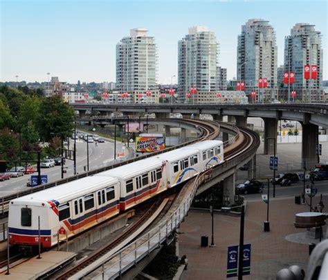 Skytrain Plan Du Métro De Vancouver, Canada