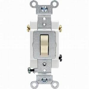 15 Amp Single Pole Light Switch