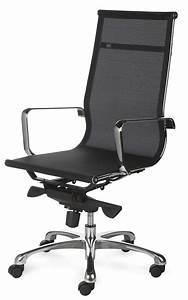 fauteuil de bureau design tout filet et chrome saumur With fauteuil design bureau