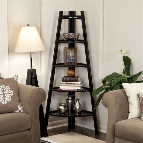 modern corner shelf trendy living room with corner shelf decorating ideas