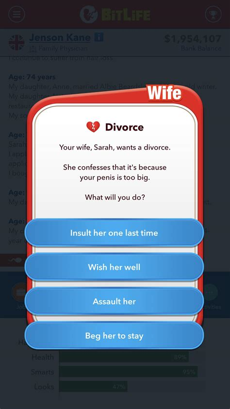 well comments bitlifeapp