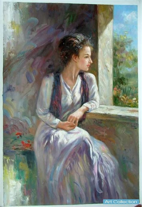 china oil painting noble lady china oil painting art