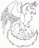 Coloring Wolves Wings Wolf Winged Cool Realistic Bird Twilight Key Heart Getcolorings Printable Sheets Cats Female Animal Popular Coloringhome Getdrawings sketch template