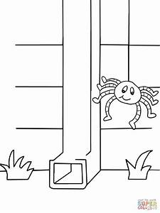 Itsy Bitsy Spider coloring page | Free Printable Coloring ...