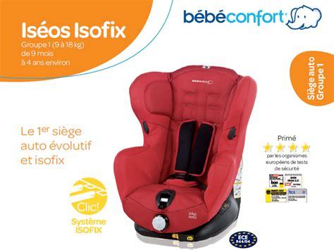 siege auto bebe confort 1 2 3 bebe confort siège auto iséos isofix gr 1 achat vente