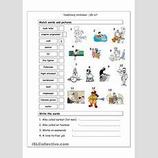 Fichas Y Recursos Para Trabajar Los Oficios En La Lengua Inglesa Printable Activities And