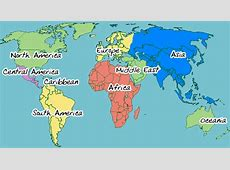 Art in All of Us Map of the World