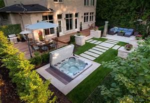 Garten mit whirlpool for Whirlpool garten mit rollbrett pflanzkübel