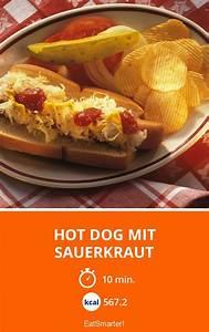 Hot Dog Kalorien : hot dog mit sauerkraut rezept rezepte lebensmittel essen und hamburger rezept ~ Watch28wear.com Haus und Dekorationen