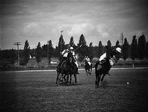 Commentary Essay Will Rogers Plays His Last Polo Game Near Lake City On