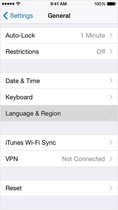 how to change language on iphone 4 how to change the language on an ios 8 phone