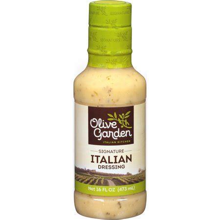 olive garden italian dressing olive garden italian dressing 16 fl oz walmart