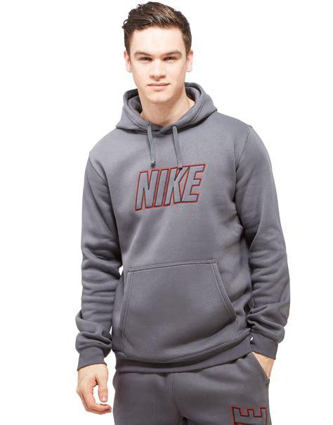 Nike Club Hoody in Gray for Men | Lyst