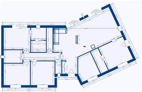 maison plain pied 2 chambres plan maison 2 chambres plain pied