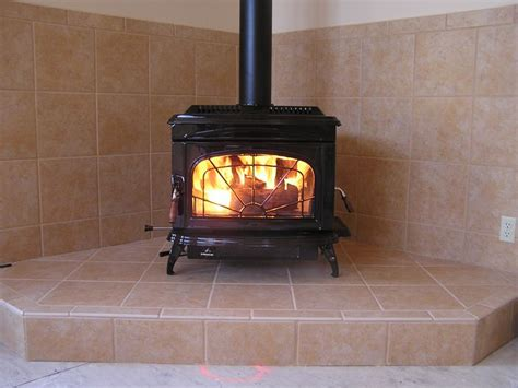 Wood Stove Corner Floor Protector by Freestanding Wood Burning Stove Wall Protection And