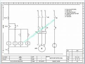 Etnik Sugitama Engineering  Wiring Diagram Kontrol Pompa