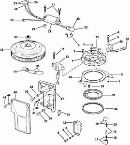 Johnson Ignition System Parts For 2003 40hp J40rlstd