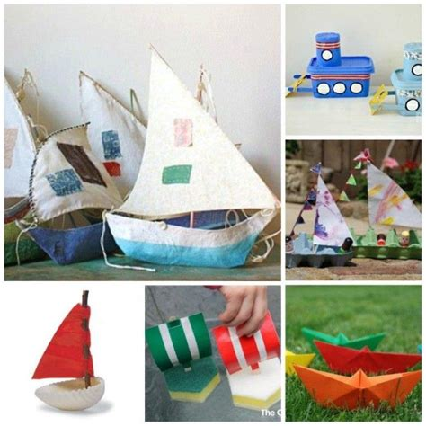 best 25 boat craft ideas on boat crafts 829 | 2db985097024410e17442aa9684296d1 boat craft kids boat crafts