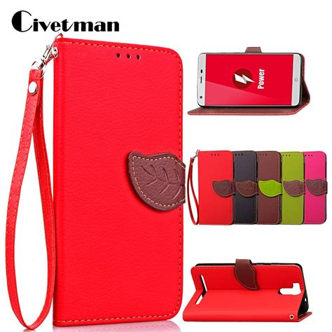 cover phone for ulefone power 5 5 quot flip pu leather tpu shell leaf magnet suction buckle
