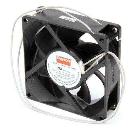 dayton axial fan 115 volts ac 3 6 watts 41 cfm 2rte8 ebay