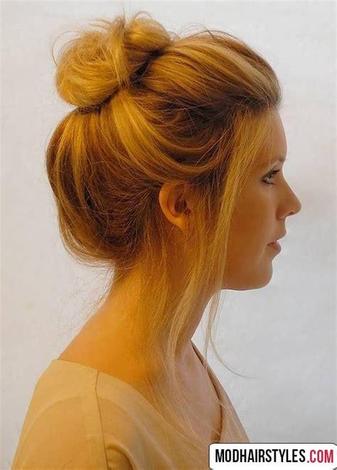 hair bun styles for medium hair bun hairstyles for hair 20 charming bun hairstyles