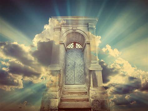 waiting   gates  heaven  st peter