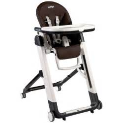 peg perego cacao siesta leather high chair high chairs