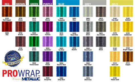 metallic color prowrap pro products