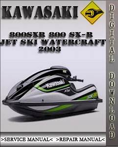 2003 Kawasaki 800sxr 800 Sx