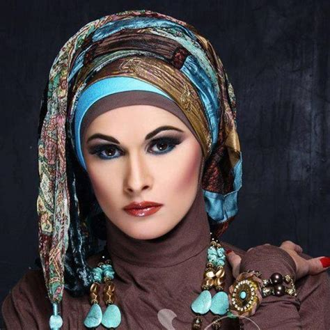 hijab styles  demonstrated   trends hijab
