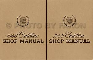 1968 Cadillac Repair Shop Manual Reprint Calais De Ville